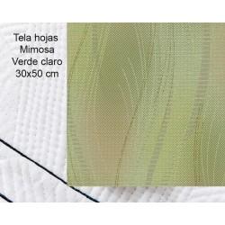 Light green fabric -...